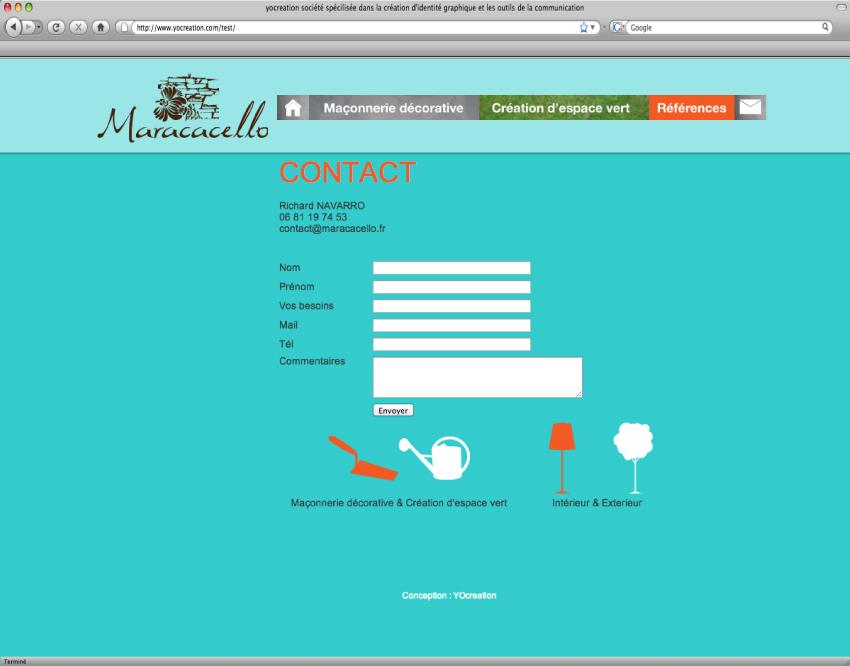 Cr ation de site internet nantes yo cr ation r alisera for Architecture graphique
